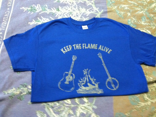 Keep the Flame Alive - T-shirt
